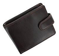 Стильный кожаный мужской кошелек Viskonti HT9 - Sloan (brown)