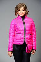 Женская короткая куртка на весну-осень от производителя + сумочка