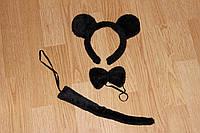 Костюм карнавальный Мышка черная Микки Маус
