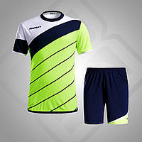 Комплект футбольной формы BestTeam SC-13015 (желтый/т.синий/белый)