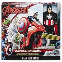 Hasbro Титаны фигурки мстителей на транспортном средстве