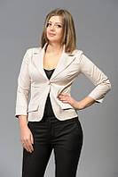 Женский классический однотонный пиджак на одну пуговицу | Цвета в наличии