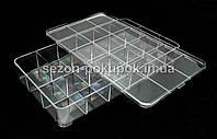 Органайзер для витрины, 18 ячеек (29 х 16,5 х 5,2см)