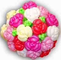 Букет из шариков Огромный Розы Шикарные 21 шт. Любимой