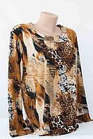 Блуза сводобный стиль, 54, 56 р.