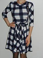 Очаровательное платье в клеточку с пышной юбкой Exclusive 0164 рр. M, L
