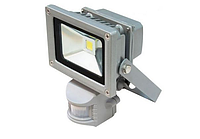 Прожектор светодиодный 20w с датчиком движения
