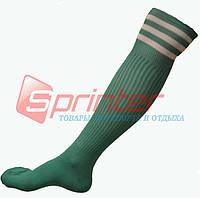 Гетры футбольные взрослые зеленые. В-150
