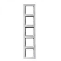 Рамка 5-кратна біла FIORENA