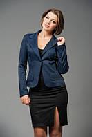 Женский деловой пиджак на одну пуговицу | Цвета в ассортименте
