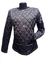 Куртка демисезонная короткая стеганая женская 44-52 р-р