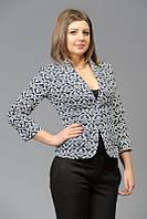 Женский модный повседневный пиджак с принтом
