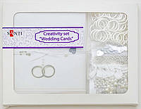 Набор для творчества Свадебные открытки 20шт./уп., 10*7см. 952055