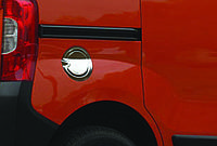 Накладка на лючок бензобака Fiat Fiorino