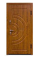Дверь входная Дверь входная С-08 дуб золотой ( 860, 960 L/R ) УКР с ручкой