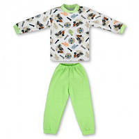 Детская пижама с манжетами на штанах, на рост -116, 122 см. (арт: 9-34_4)