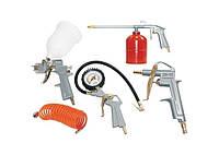 Набор пневматического инструмента ABAC  5 элем.