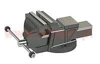 Тиски слесарные ARTPOL с наковальней 150 мм чугунные