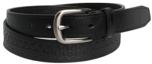 Женский кожаный ремень 5154 black черный ДхШ: 110х3 см.