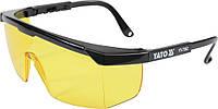Очки защитные открытые Yato 7361 желтые