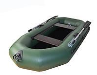 Надувные лодки пвх Omega Ω 245 L(PS) (двухместная гребная лодка с поворотными уключинами и подвижными сидения)