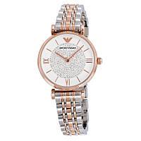 Часы Emporio Armani White Crystal Pave Dial AR1926