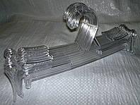 Вешалка прозрачная 25 см для нижнего белья