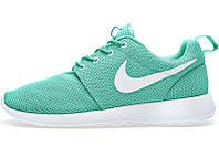 Женские кроссовки Nike Roshe Run, найк роше ран бирюзовые