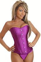 Фиолетовый корсет