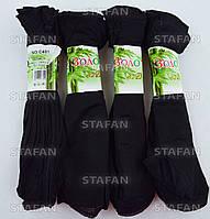 Капроновые носочки чёрные Zoloto C401-1-R. В упаковке 10 пар