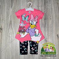 Летний костюм Daisy для девочки: туника и лосины