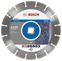 Алмазный отрезной диск 115x22 для камня BOSCH