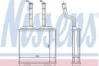 Радиатор печки Opel (производство Nissens ), код запчасти: 72634