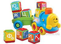 Развивающая игрушка Bkids Поезд-алфавит 04357