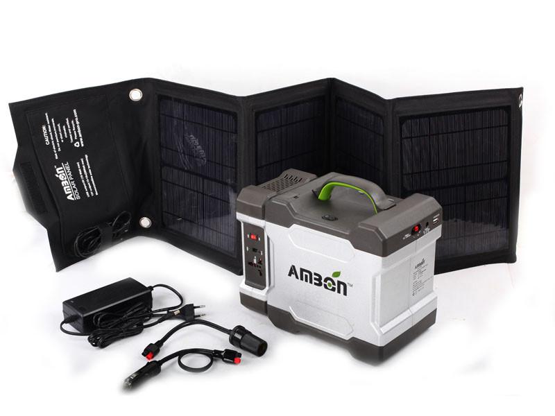 Портативная зарядная солнечная система AM-CA3