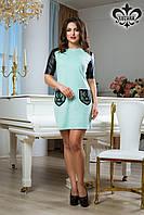 """Платье """"Влади"""" (мятный), фото 1"""