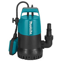 Насос для чистой воды с поплавком 300Вт 140 л/мин pf0300 Makita