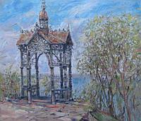 Картина «Городской пейзаж Киева» (картины на тему Киева)