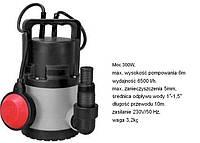 Насос для чистой воды 300Вт 6500л/ч spec30c-n Nac NAC