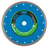 Алмазный отрезной диск Tyrolit для керамики / керамогранита dct*** 250 x 1,6 x 25,4 мм