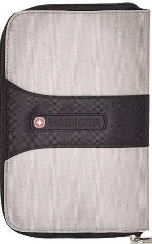 Удобный органайзер для документов WENGER 6193GY серый