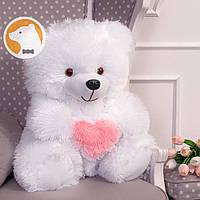 Плюшевый медвежонок с сердцем, 70 см