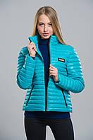 Короткая женская весенняя куртка
