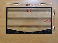 Стекло духовки Асел 37,8х22,6 см