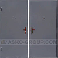 металлические двери на лестничной площадке в подольске
