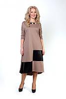 Очаровательное женское платье с украшением
