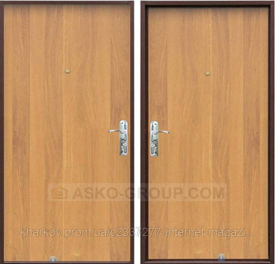 дверь металлическая тамбурная с кодовым
