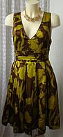 Платье женское летнее модное с пышной юбкой мини бренд MNG Suit  р.42-44 5711а