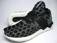 Кроссовки мужские адидас Adidas Tubular серые с черным