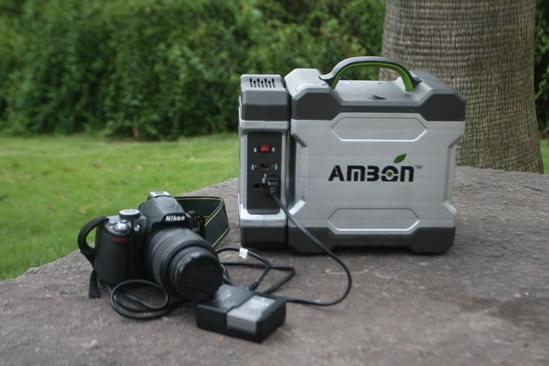 Портативная солнечная зарядная установка AM-P350i